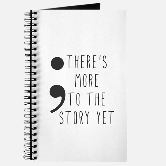 Semicolon- More to the Story Journal