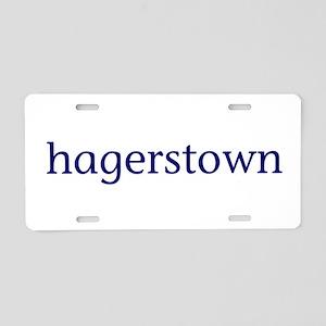Hagerstown Aluminum License Plate