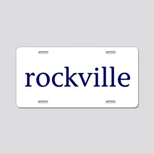 Rockville Aluminum License Plate