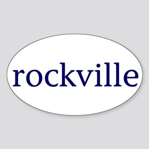 Rockville Sticker (Oval)