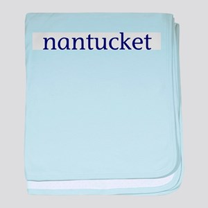 Nantucket baby blanket
