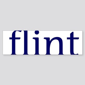 Flint Sticker (Bumper)