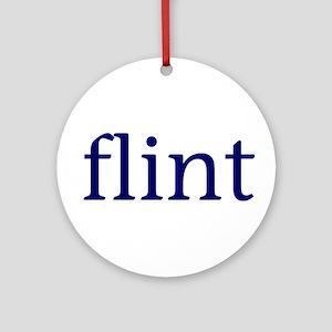 Flint Ornament (Round)