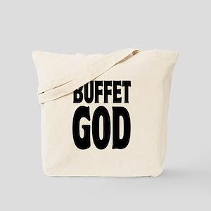 Buffet God Fat Tote Bag