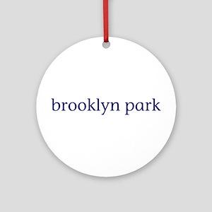 Brooklyn Park Ornament (Round)
