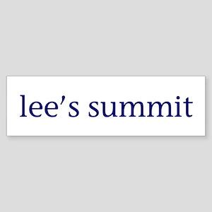 Lee's Summit Sticker (Bumper)