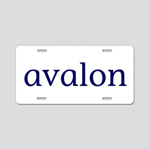 Avalon Aluminum License Plate