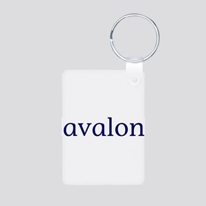 Avalon Aluminum Photo Keychain