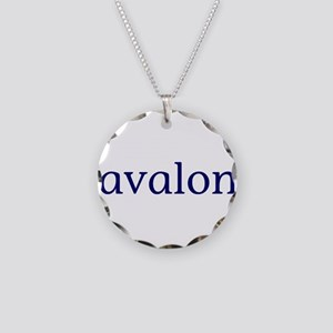 Avalon Necklace Circle Charm