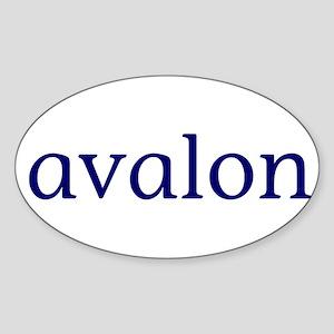 Avalon Sticker (Oval)