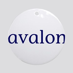 Avalon Ornament (Round)