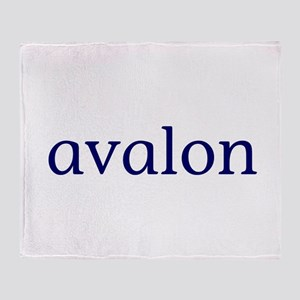Avalon Throw Blanket