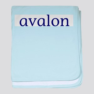 Avalon baby blanket