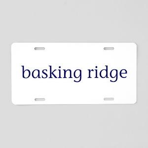 Basking Ridge Aluminum License Plate