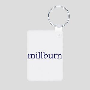 Millburn Aluminum Photo Keychain