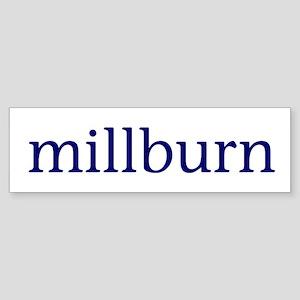 Millburn Sticker (Bumper)