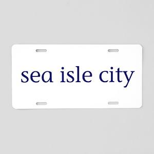 Sea Isle City Aluminum License Plate