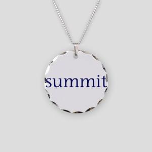 Summit Necklace Circle Charm