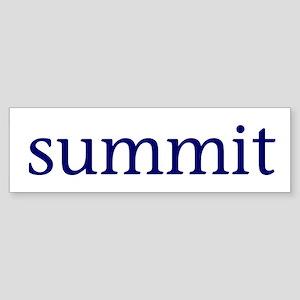 Summit Sticker (Bumper)