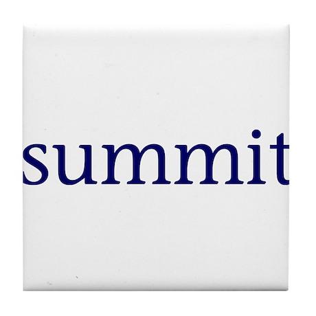 Summit Tile Coaster