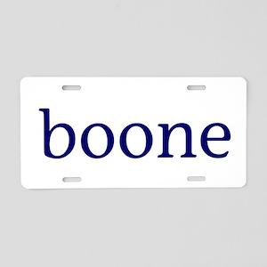 Boone Aluminum License Plate