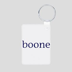 Boone Aluminum Photo Keychain