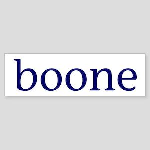 Boone Sticker (Bumper)