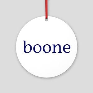 Boone Ornament (Round)
