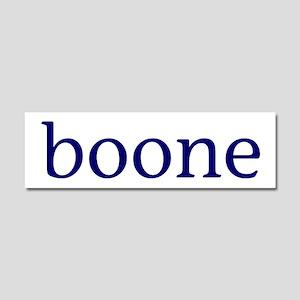 Boone Car Magnet 10 x 3