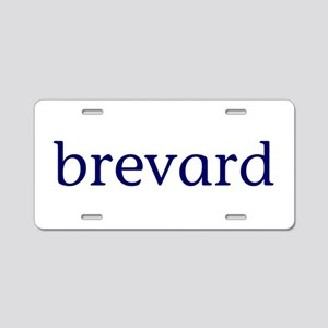 Brevard Aluminum License Plate