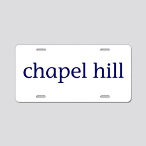 Chapel Hill Aluminum License Plate