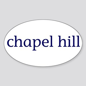 Chapel Hill Sticker (Oval)