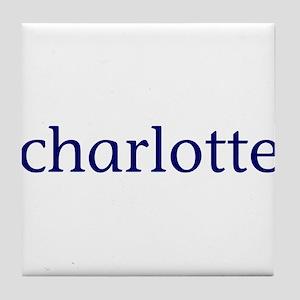 Charlotte Tile Coaster