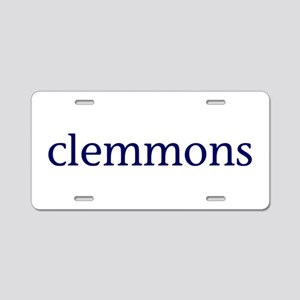 Clemmons Aluminum License Plate