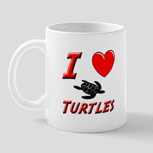 SEA TURTLE FACTS Mug