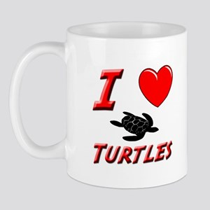 SEA TURTLE FACTS Mug