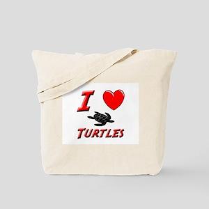 SEA TURTLE FACTS Tote Bag