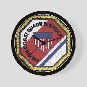 Wall Clock: Eighth Coast Guard District