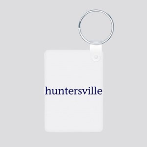 Huntersville Aluminum Photo Keychain