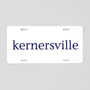 Kernersville Aluminum License Plate