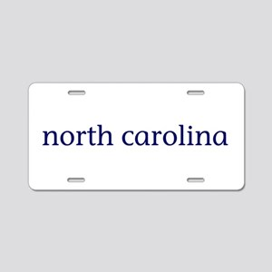 North carolina gifts cafepress north carolina aluminum license plate negle Images