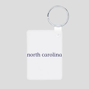 North Carolina Aluminum Photo Keychain