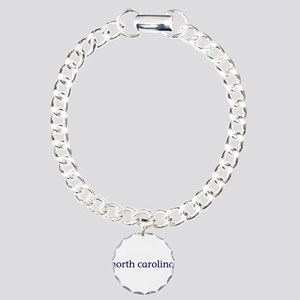 North Carolina Charm Bracelet, One Charm