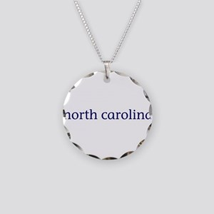 North Carolina Necklace Circle Charm
