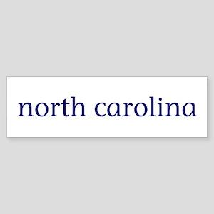 North Carolina Sticker (Bumper)
