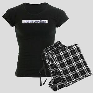 North Carolina Women's Dark Pajamas