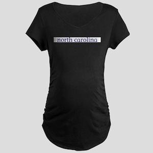 North Carolina Maternity Dark T-Shirt