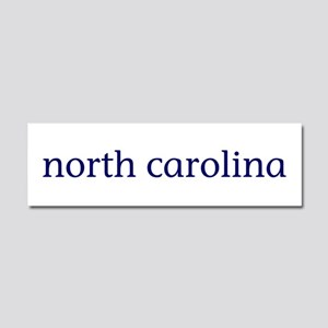 North Carolina Car Magnet 10 x 3