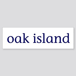Oak Island Sticker (Bumper)