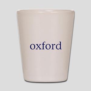 Oxford Shot Glass